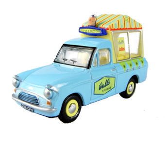 "76ANG018 Ford Anglia van in ""Walls Ice Cream"""