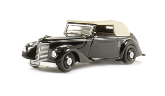 76ASH004 Armstrong Siddeley Hurricane in black