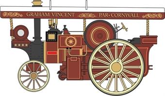 76BR002 Burrell 8nhp DCC Showmans Locomotive No. 2351 Ephraim