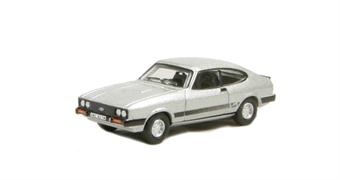 """76CAP001 Ford Capri Mk3 Strato Silver - Bodie (of """"The Professionals"""") £4.50"""