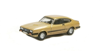"76CAP002 Ford Capri Mk3 in Solar gold - (Doyle) of ""The Professionals"" £4.50"