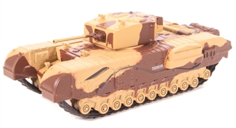 76CHT001 Churchill Tank MkIII Kingforce - Major King £11