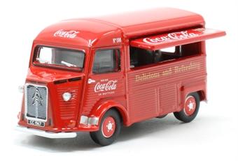 76CIT003CC Citroen H Van Coca Cola
