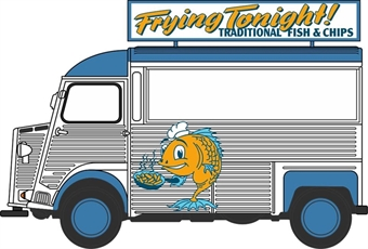 76CIT005 Citroen H Catering Van Fish & Chips