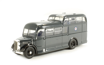 76COM001 Commer Commando bus RAF blue
