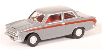 76COR1008 Ford Cortina Mk1 Lombard grey/red