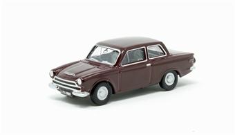 76COR1009 Ford Cortina Mk1 Black Cherry £4.50
