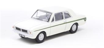 76COR2008 Ford Cortina Mk2 Ermine White/Sherwood Green