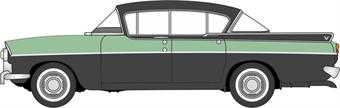 76CRE011 Vauxhall Cresta Versailles Green An Black