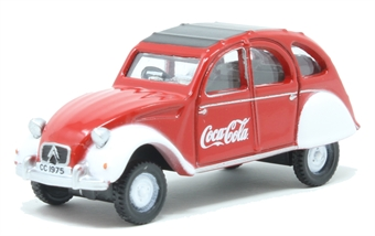 76CT007CC Citroen 2CV Coca Cola