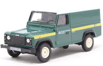 76DEF017 Forestry Commission Land Rover Defender