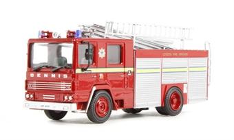 76DN001 Dennis RS Fire Engine London FB (London's Burning)
