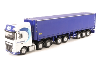 76DXF001 DAF XF Euro 6 CombiTrailer/Container Maritime Transport