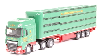 76DXF003 DAF XF William Armstrong Houghton Parkhouse livestock trailer