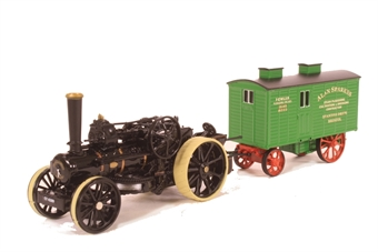 76FBB002 Fowler BB1 Plough Engine No15222 Bristol Rover + Living Wagon Dorset £18
