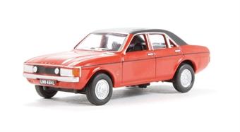 76FC003 Ford Consul/Granada Sebring Red.  £4.50
