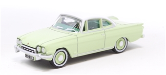 76FCC001 Ford Consul Capri Lime Green/Ermine White