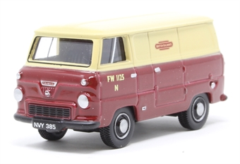 76FDE001 Ford 400E Van British Rail