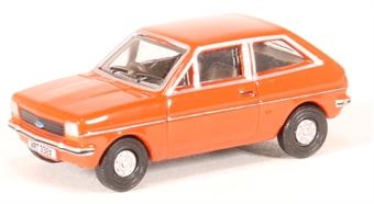 76FF006 Ford Fiesta Mk1 terracotta