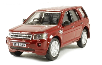 76FRE001 Land Rover Freelander 3 in red £4.50