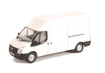 76FT006 Ford Transit high top LWB van in plain white £4.50