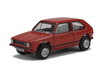 76GF001 Golf GTI in Mars red £3
