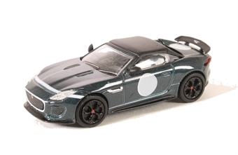 76JFT001 Jaguar F-Type Project 7 British Racing Green
