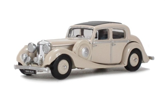 76JSS001 Jaguar SS 2.5 litre Saloon Cream. £4