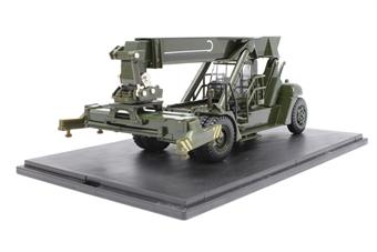 76KRS004-PO Konecranes Reach Stacker NATO Green - Pre-owned - Like new, imperfect box