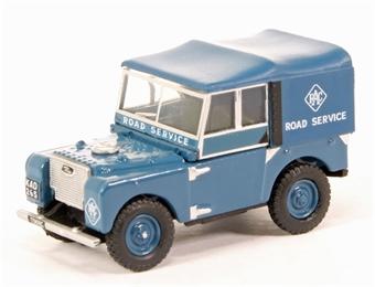"""76LAN180006 Land Rover Series I 80"""" Hard Top - RAC"""