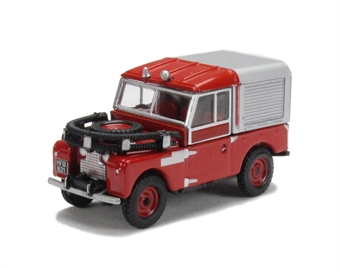 76LAN188012 Land Rover 88 - Fire Red.