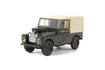 76LAN188022 Land Rover Series 1 88 Canvas 6th Training Regiment - RCT