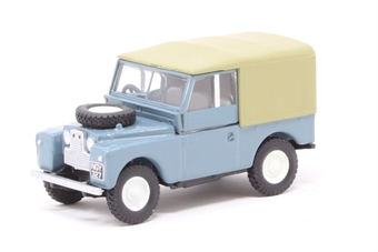 "76LAN188023 Land Rover Series 1 88"" Canvas Marine Blue"