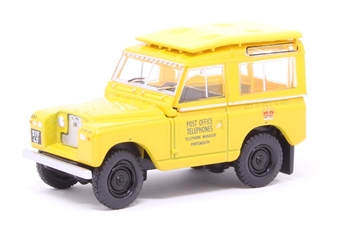 76LR2S004 Land Rover Series II SWB Post Office Telephones (Yellow)