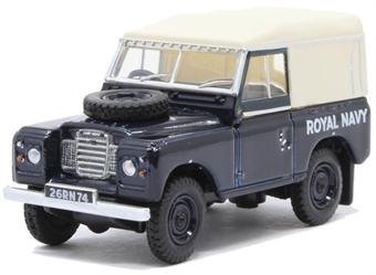 76LR3S004 Land Rover Series III SWB Canvas - Royal Navy