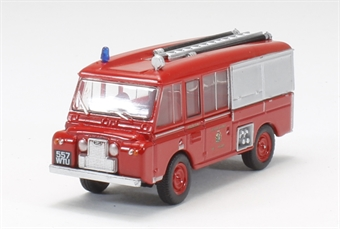 "76LRC001 Land Rover FT6 Carmichael ""Cheshire County Fire Brigade"""