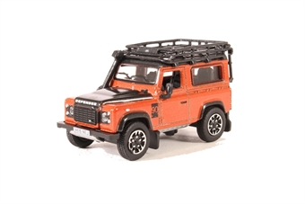 76LRDF008AD Land Rover Defender 90 Station Wagon Phoenix Orange (Adventure)