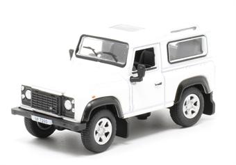 76LRDF012 Land Rover Defender 90 Station Wagon White (HK Reg)