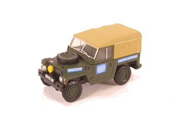 76LRL001 Land Rover 1/2 Ton Lightweight United Nations