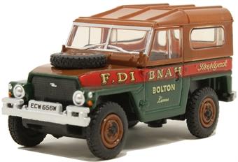 """76LRL006 Land Rover - """"Fred Dibnah - Steeplejack"""""""