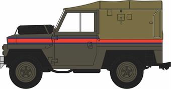 76LRL007 Land Rover Lightweight Canvas RAF Police