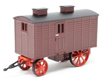 76LW001 Living Wagon Maroon/Red