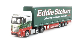 "76MB001 Mercedes Actros MP4 GSC Curtainside ""Eddie Stobart"""