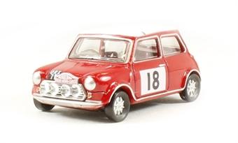 76MCS001 Mini Cooper S MkII 1968 Monte Carlo Rally