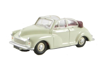 76MMC005 Morris Minor Convertible Open Old English White/Red