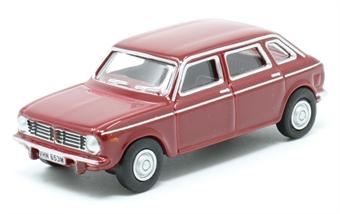 76MX002 Austin Maxi Damask Red