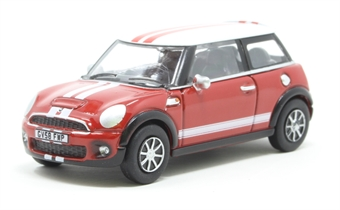 76NMN007 New Mini Chili Red/White