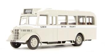 """76OWB006 Bedford OWB """"British Railways"""" in pale milky grey"""