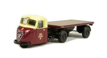 """76RAB006 Scammell Scarab Flat """"British Railways"""""""