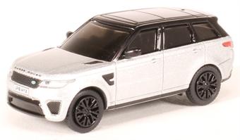 76RRS002 Range Rover Sport SVR Indus Silver £5